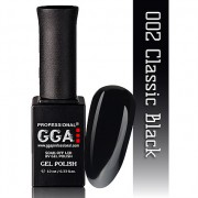 Гель лак G.G.A.Professional №2 (classic black), 10ml