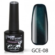 Гель лак Lady Victory «Cat's eye» (кошачий глаз), 7,3 мл. GCE-008